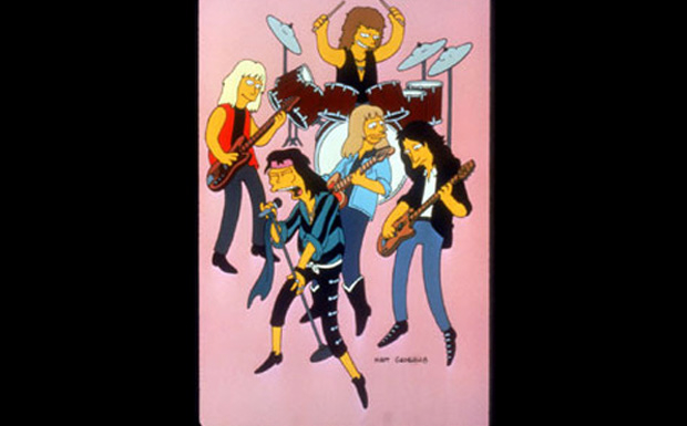 Aerosmith bei den Simpsons