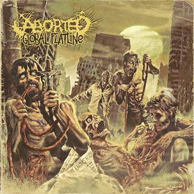Aborted Cover zu Global Flatline