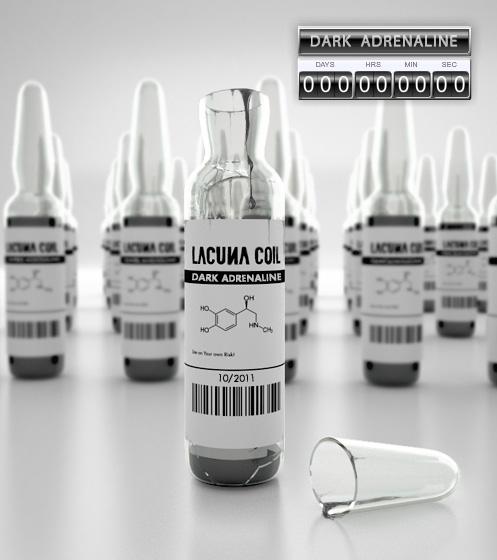Album Cober Lacuna Coil Dark Adrenaline