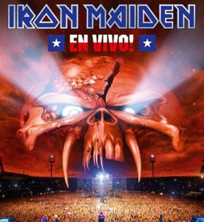 Iron Maiden EN VIVO Cover
