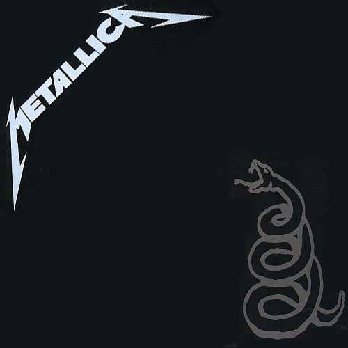 Metallica, Black Album, Cover