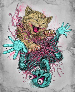 Katzen auf Metal-Covern