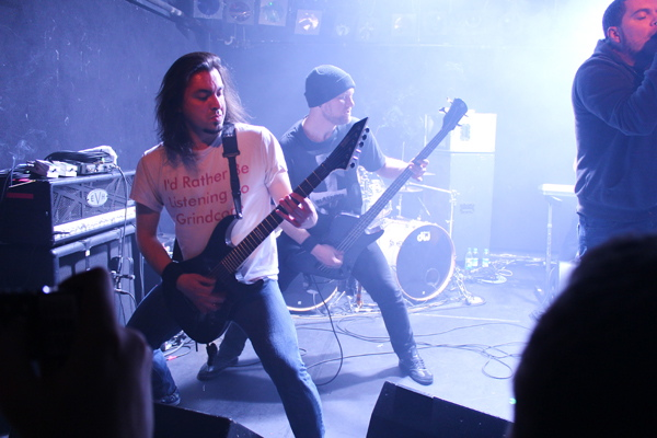 Chimaira, live, 02.04.2012 Berlin, Magnet-Club