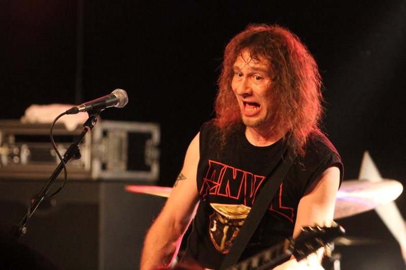 Anvil, live, 19.06.2011 Berlin, Magnet Club