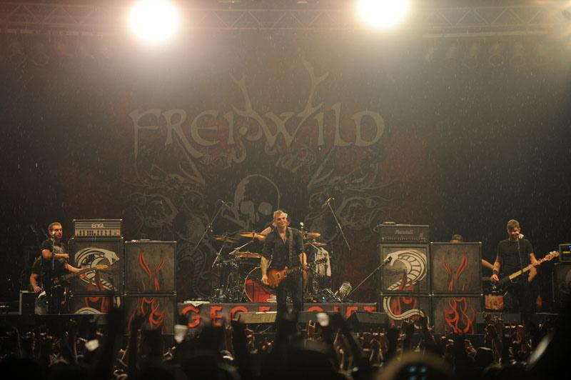FreiWild, live, Rock Harz 2011