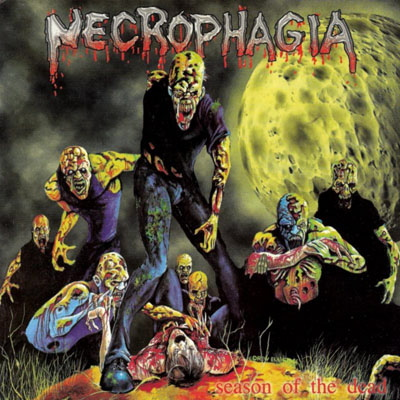 Zombies auf Metal-Covern - der Spaß der Hässlichkeit