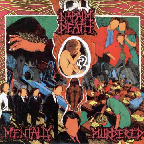 Napalm Death Mentally Murdered Cover