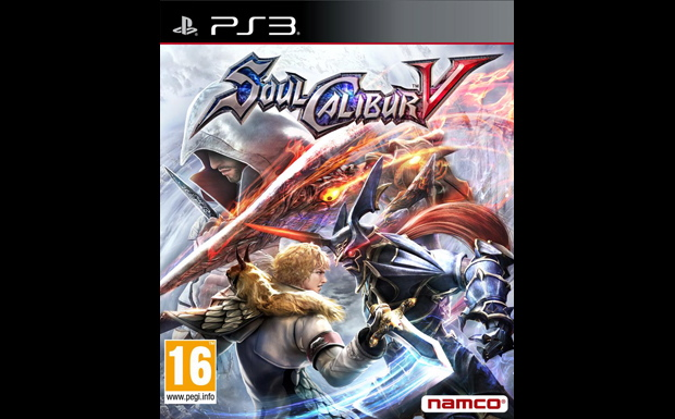 Soul Calibur V, PS3 Cover
