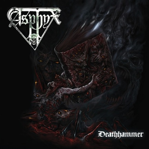 Asphyx, DEATHHAMMER, Cover