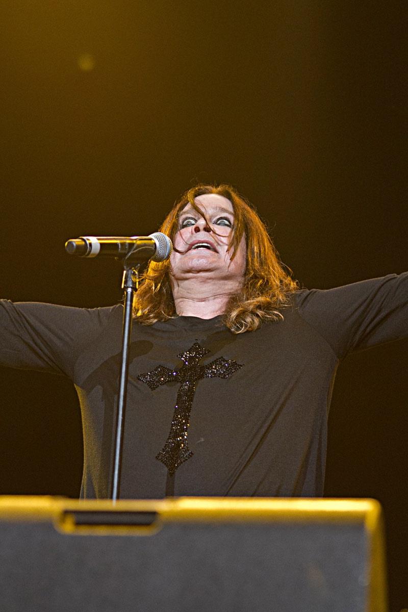 Ozzy, live, Wacken 2011