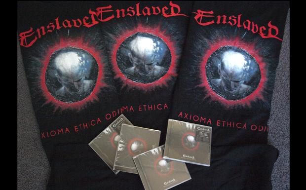 Enslaved-Verlosung zu AXIOMA ETHICA ODINI