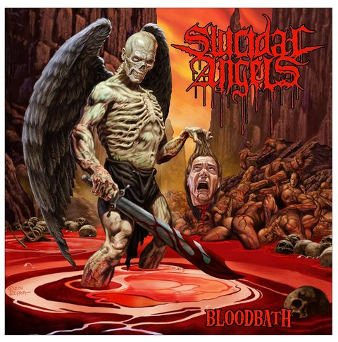Album-Cover Bloodbath von Suicidal Angels