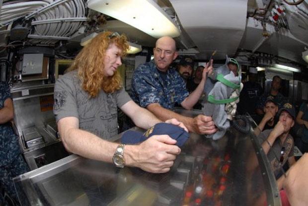 Megadeth im Uboot, 2011