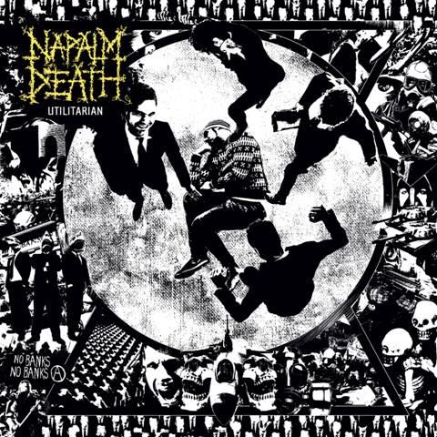 Napalm Death Utilitarian Cover