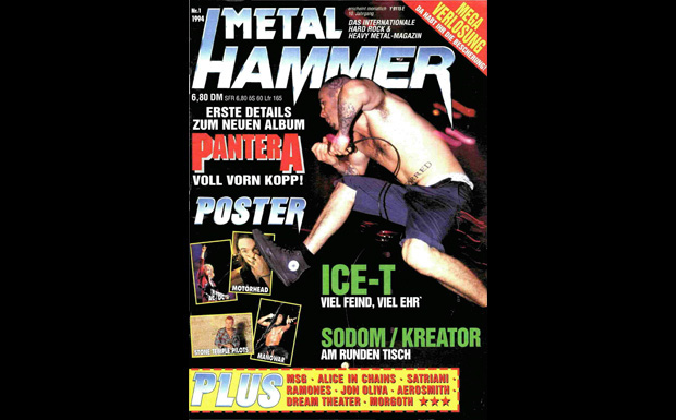METAL HAMMER 01/1994, Cover