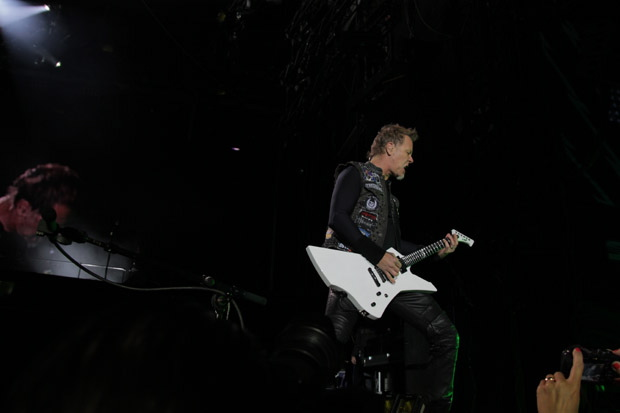Metallica live bei Rock am Ring 2012