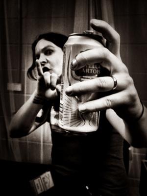 Deathstars auf ihrer Rammstein-Support-Tour, 2012