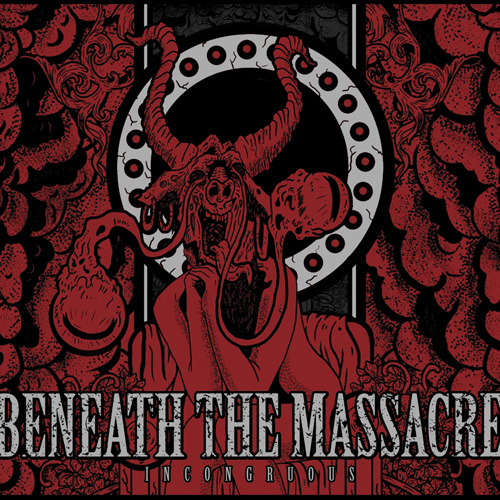 Beneath The Massacre Incongruous Cover