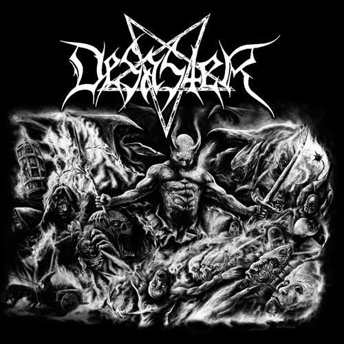 Desaster The Arts Of Destruction Cover