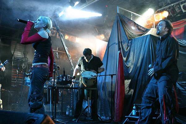 Kontrust, live, 10.05.2012 München, Backstage
