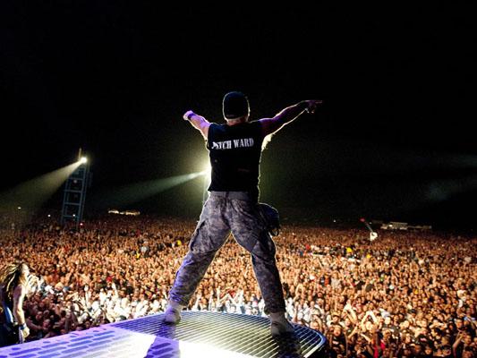 Iron Maiden on stage