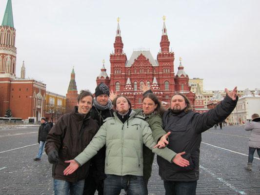 Powerwolf in Moskau