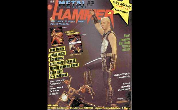 Das erste METAL HAMMER Cover