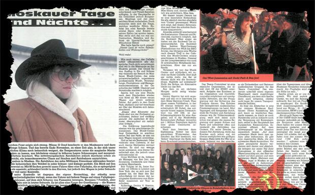 Bon Jovi Tour-Bericht 1989 Ausriss