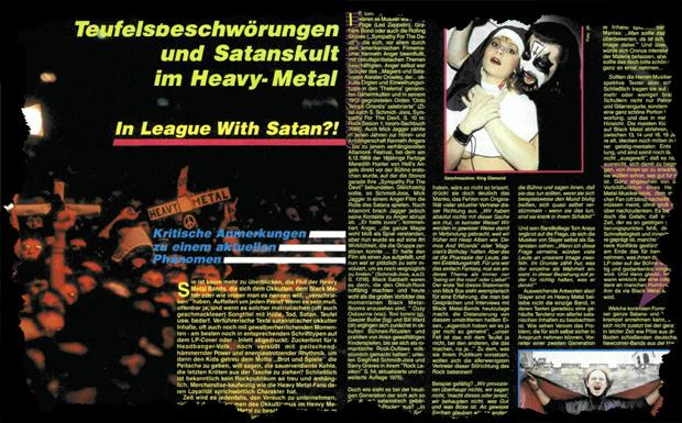 okkultismus ausriss 1986