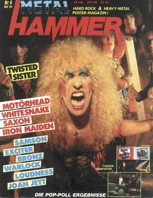 Der METAL HAMMER in den 80ern