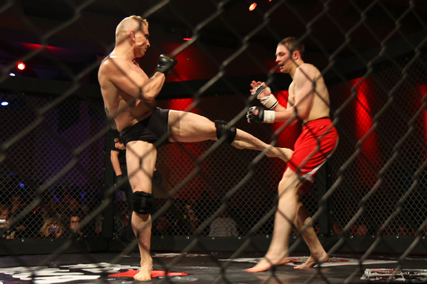 Action bei 'We love MMA'
