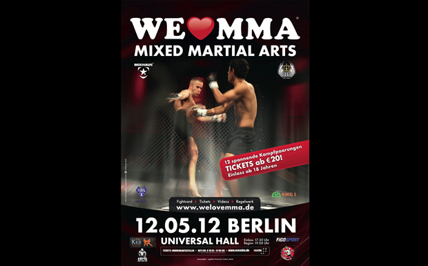 We love MMA, 2012, Berlin