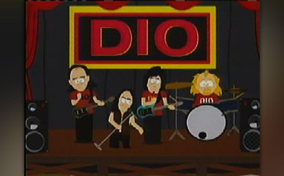 Metaller, Rocker und Pop-Stars zu Gast in 'South Park': Auch Dio rockte schon mit Kenny und Co.