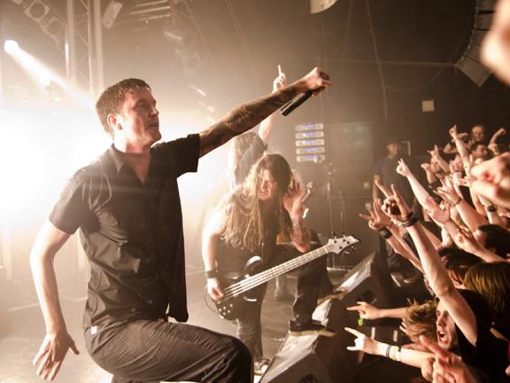 Heaven Shall Burn, live, 22.03.2012 Hamburg, Markthalle