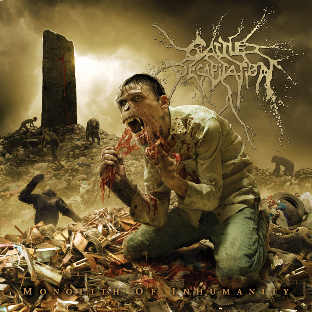 Cattle Decapitation, MONOLITH OF INHUMANITY, Cover