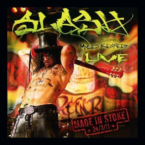 Slash feat. Myles Kennedy Cover Live/Made In Stoke 24/7/11