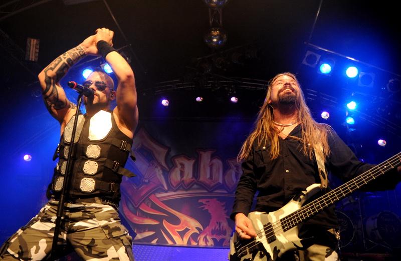 Sabaton, live, 16.09.2011 Hamburg, Markthalle