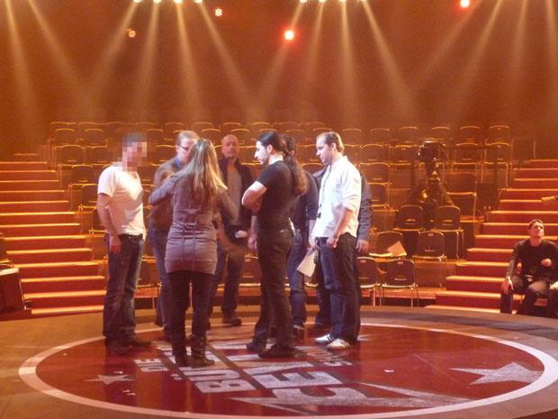 Backstage bei Bülent Ceylan, 2012
