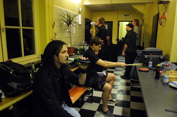Auf Tour mit Heaven Shall Burn, 2012