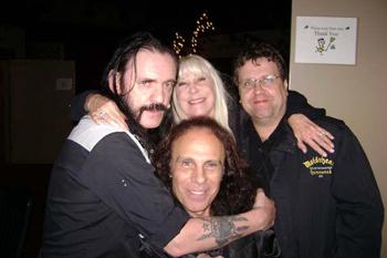 Lemmy + Wendy Dio + Adam Parsons