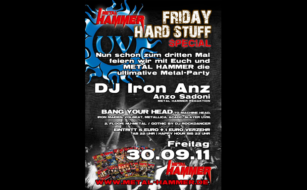 Metal Hammer Party, Karlsruhe, September