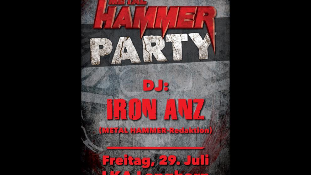 Metal Hammer Party im Juli 2011