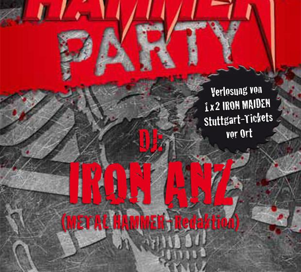 METAL HAMMER-Party in Stuttgart