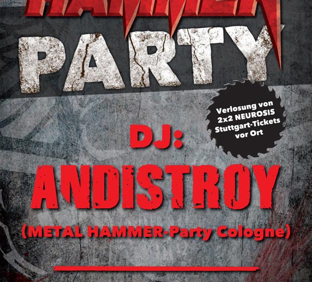 Metal Hammer Party in Karlsruhe