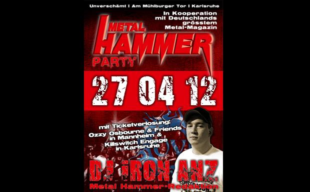 Metal Hammer Party, Karlsruhe, April