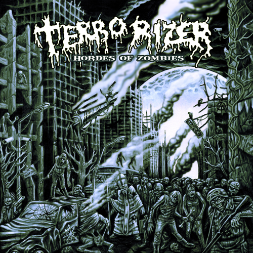 Terrorizer Hordes Of Zombies Cover