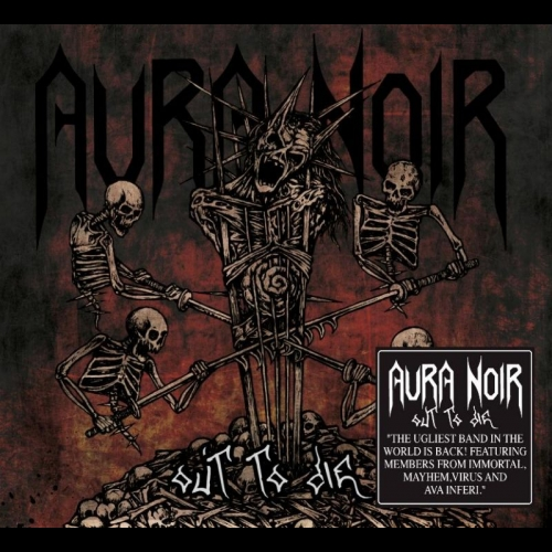 Aura Noir Out To Die Cover