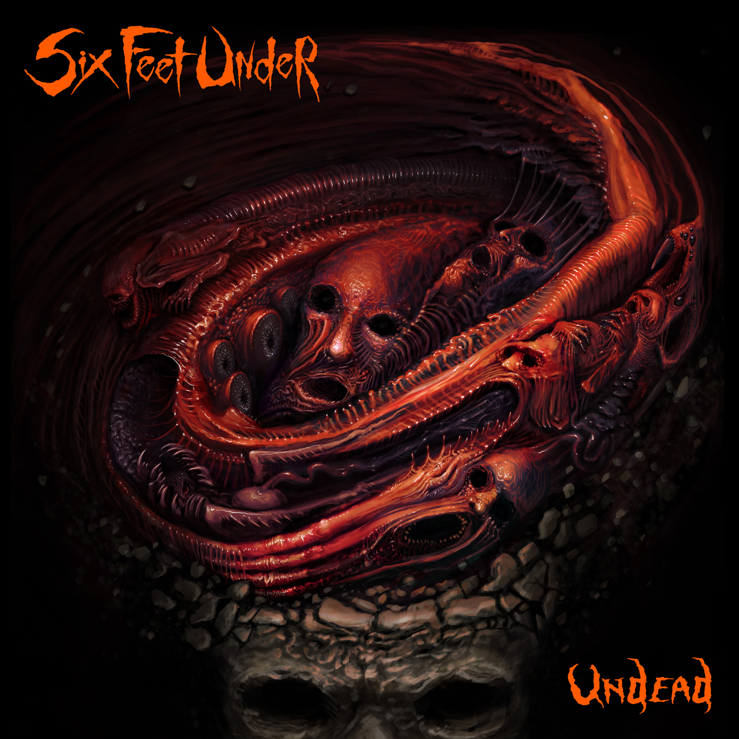 Six Feet Under, UNDEAD, Cover