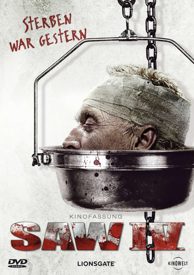SAW IV DVD-Cover
