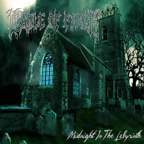Cradle Of Filth Midnight In The Labyrinth Cover